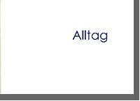 """""""Alltag"""", Fotobildband"""