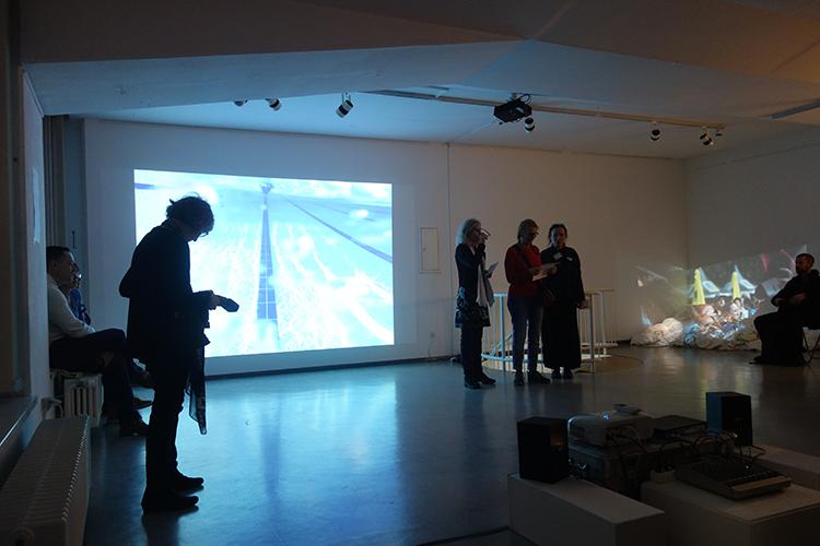 """Eröffnung der Ausstellung """"be touched"""""""
