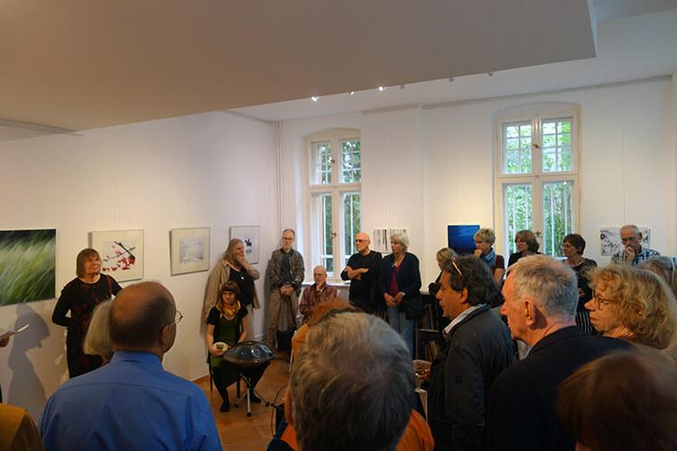 """Eröffnung der Ausstellung """"Auflösung"""", II"""