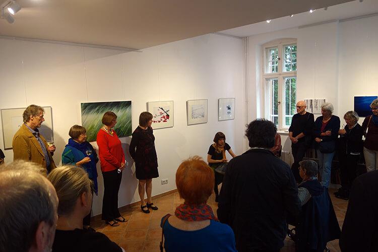 Eröffnung der Ausstellung, Klangimprovisationen mit Marleen Luisa Menke