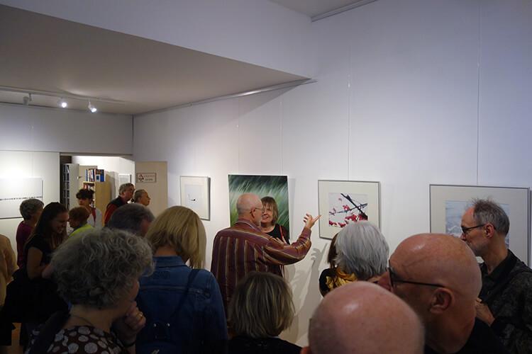 """Eröffnung der Ausstellung """"Auflösung"""", III"""