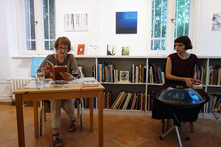 Finissage, Lesung mit Sigrun Casper und Klangimprovisationen mit Marleen Luisa Menke