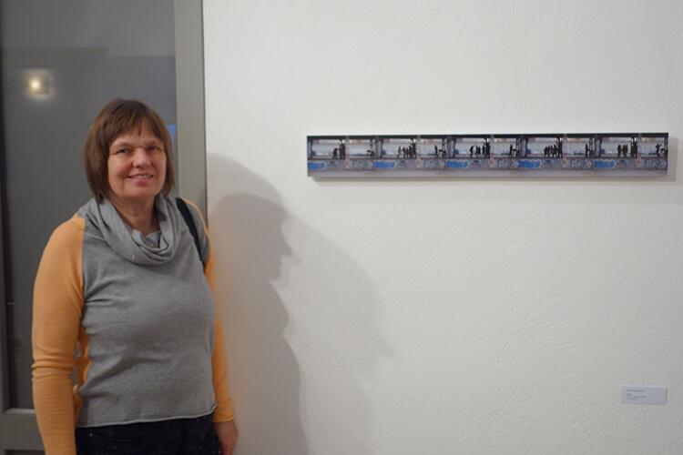 Monika Behringer mit Werk 16-23