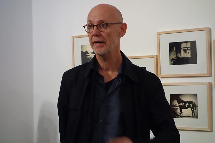 """Einführung der Ausstellung """"Vom Vergehen"""", Thorsten Goldberg"""
